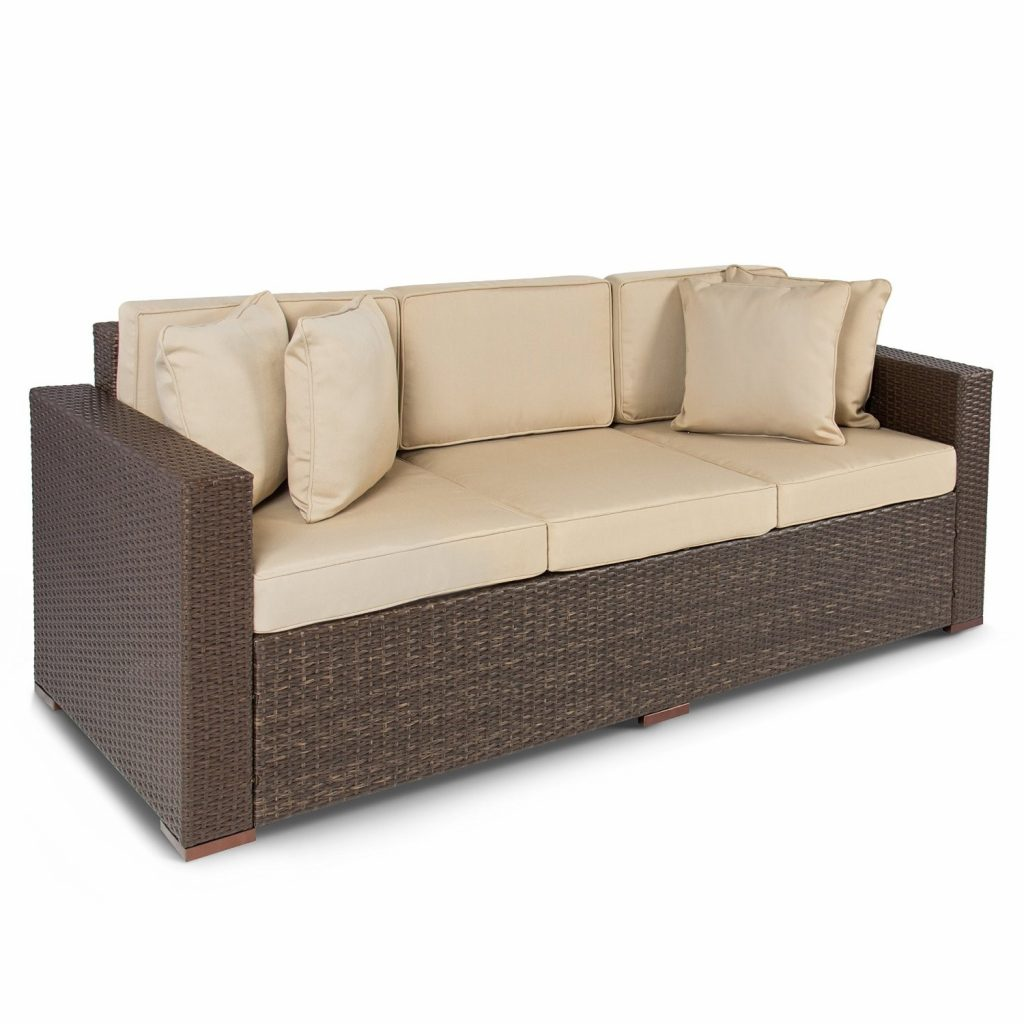 Best Choice Outdoor Wicker Patio Furniture Sofa